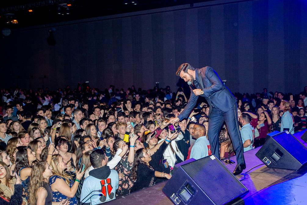 Thanos Petrelli FDF Concert